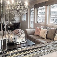 80 Stunning Small Living Room Decor Ideas For Your Apartment 059 Home Living Room, Living Room Designs, Living Room Decor, Living Spaces, Living Room Inspiration, Home Decor Inspiration, Decor Ideas, Room Ideas, Decoration Chic