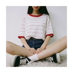Look at this Stylish spring korean fashion Mode Outfits, Korean Outfits, Casual Outfits, High Socks Outfits, Korean Dress, Girl Outfits, Korean Fashion Trends, Asian Fashion, Set Fashion