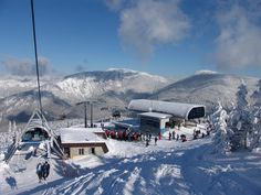 Jasna skiing center - biggest resort in Low Tatras, #Slovakia