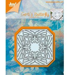 Joy!Crafts mallen 6002/0557 Gerti s Butterflu