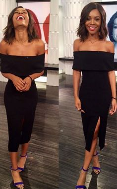 """Zuri Hall from E! News Look of the Day  """"Love what you do"""