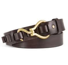 2a62576926f Hoof Pick Belt in Brown Leather