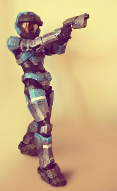 Halo Reach: The Creation of Kat Armor Suite (105 pics)