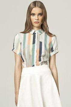 Koszula+k42+-+paski+w+NIFE+Fashion+na+DaWanda.com