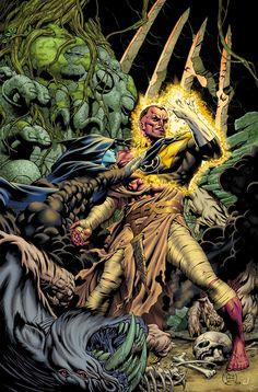Sinestro by Dale Engleshman