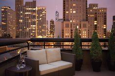 Penthouse Balcony, Thompson Chicago