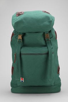 Rugged canvas rucksack from All-Son. #urbanoutfitters