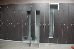 z lockers for gym changing rooms.