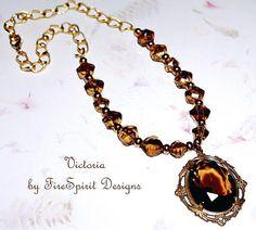 Victoria handmade necklace artisan necklace pendant