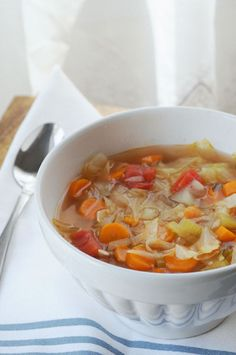 7 Day Detox Cabbage Soup                                                       …