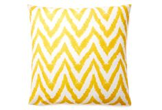 Chevron 20x20 Pillow, Yellow on OneKingsLane.com