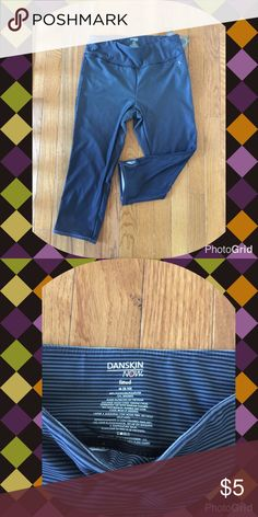 Women's Danskin Yoga Pants size Medium Ring in the new year with Women's Danskin Yoga pants. Size Medium. Dark Blue and light blue pinstripes. New with tags. Smoke free home. Danskin Pants