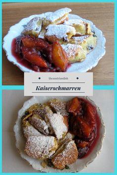 Kaiserschmarren – sweet cut-up Austrian pancake with raisins Pastry Dishes, Austrian Recipes, Cut Up, Apple Sauce, Kaiser, Pancakes, French Toast, Wordpress, Pancake