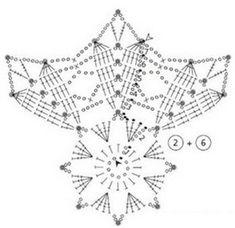 Magnificent snowflakes New Year! Crochet Snowflake Pattern, Crochet Stars, Crochet Doily Patterns, Crochet Snowflakes, Crochet Designs, Crochet Doilies, Crochet Flowers, Crochet Christmas Ornaments, Christmas Crochet Patterns