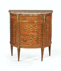 commodes/chest of drawers Antique French Furniture, Classic Furniture, Furniture Styles, Luxury Furniture, Cool Furniture, Furniture Design, Louis Xvi, Parquetry, Sideboard Buffet
