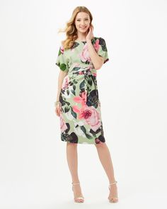 Phase Eight Chantay Rose Dress Green
