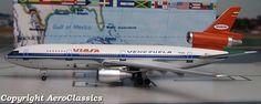 ****RARE**** Aeroclassics 1:400 Viasa DC-10-30 (YV-137C) 1980s colors