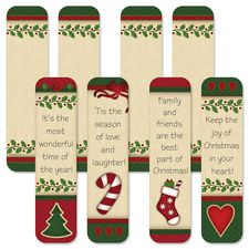 Free Printable Christmas Bookmarks | Print This Today | Better to ...