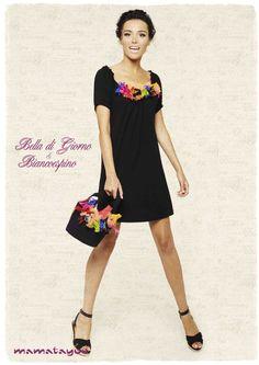 Sotto il Girasole della Toscana by Mamatayoe / Set:Ginger / Look: Bella di Giorno + Biancoespino Italian Style, Fashion Accessories, Short Sleeve Dresses, Toscana, Bella, Womens Fashion, Fall Winter 2014, Feminine Style, Woman Clothing