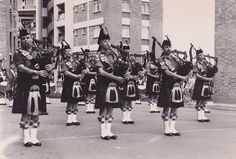 Gordon Highlanders band