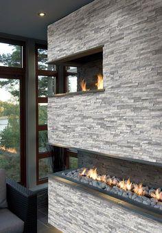 Alaska Grey Stackstone Ledger Panel