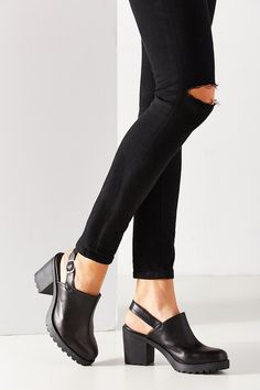 532625fa4a2cf Swedish hasbeens Enkellaarsjes met plateauzool black - Shoes   Pinterest
