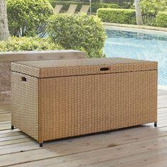 Mistana Crawfordsville Outdoor Resin Deck Box Color: