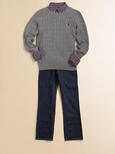 Ralph Lauren - Boy's Cable Sweater