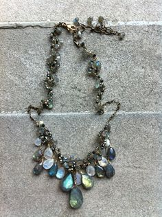 Gemstone jewelry and I love labradorite.!