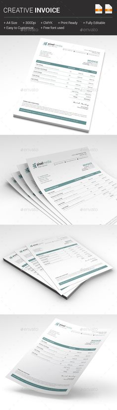 Invoice Best Proposals, Stationery and Quotation format ideas