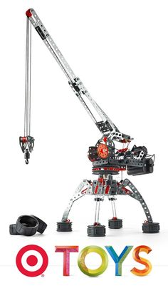 Encourage your little one's creative side with the Meccano Erector Super Construction Set.