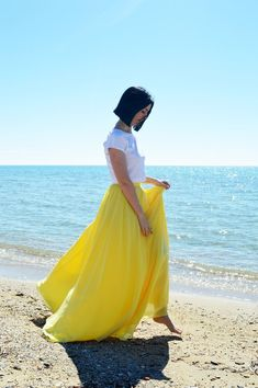 Yellow Chiffon Skirt, Woman Wedding Skirt, Maxi Skirt, Engagment Skirt, Bridesmaids Chiffon Skirt, Women Chiffon Skirt, Bridal Skirt Chiffon Yellow Maxi Skirts, Summer Skirts, Yellow Dress, Bridal Skirts, Wedding Skirt, Chiffon Rock, Chiffon Skirt, Bridesmaid Skirts, Bridesmaids