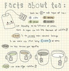 Facts about tea!