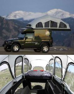 Mobile Living EarthRoamer Jeep