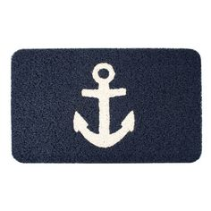 anchor doormat; docking at home port