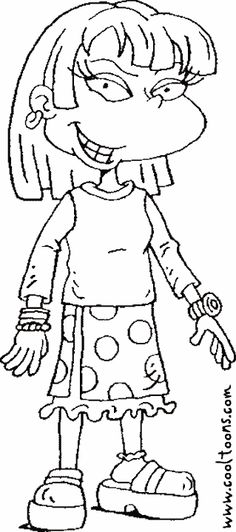 Susie Rugrats Coloring Pages 31 maybe add this to Rugrats Kwanzaa ...