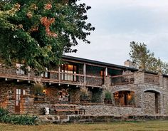 Ranch House Style - Cattle Ranch Home