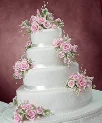 Image result for bolos cenográficos para casamento de oito andares