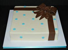 Polka Dot Present Cake by cjmjcrlm (Rebecca), via Flickr