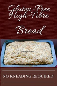 Gluten Free High Fibre Bread Modifications for low FODMAP: If you don't tolerate oat flour, use another kind of 'safe' GF/FODMAP friendly flour :)