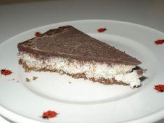 ČOKOLÁDOVO KOKOSOVÝ DEZERT (orechy, ďatle, kakao; kokos; kakaové maslo...)
