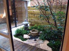 patio com jardim no interior em casa  ❤️vanuska❤️