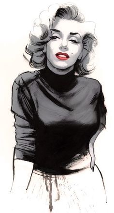 Marilyn Monroe Illustration