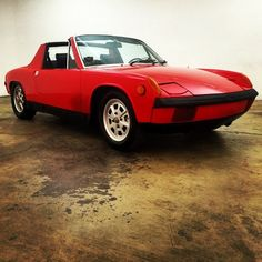 Ready for the road.  1972 Porsche 914!