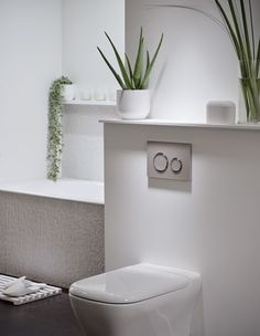 The new Geberit myDay range offers ceramics with soft, organic curves, drawing inspiration from the shapes of the natural world to help create the perfect space to relax and unwind in the bathroom Downstairs Bathroom, Small Bathroom, Bathroom Ideas, Relaxing Bathroom, Walk In Shower Designs, Bathroom Collections, Bathroom Toilets, Modern Bathroom Design, Bathroom Furniture