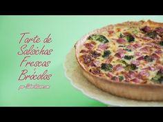 Receita de Tarte de Salsichas Frescas e Brócolos