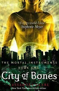 City of Bones - Book 1 of The Mortal Instruments Series | Book Review Written by Cassandra Clare Favourite read of last few years ★★★★★  http://coldteaandcrumbs.blogspot.co.uk/2013/06/city-of-bones-mortal-instruments-series.html