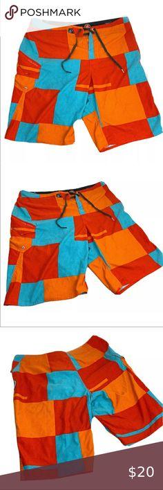 YOUSHO Mens Swim Trunks Penguin Beach Shorts Quick Dry Mesh Lining Board Shorts Swimwear with Pockets