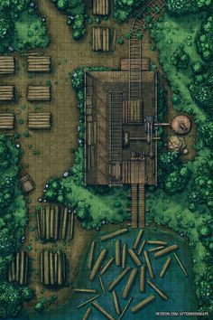 Afternoon Maps is a place to find my Pen and Paper (DnD and more) RPG Battlemaps and assets Fantasy City Map, Fantasy Places, Lili Marleen, Dnd World Map, Rpg World, Dark Fantasy, Pathfinder Maps, Pen & Paper, Rpg Map