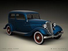 1933 Ford Model A Tudor